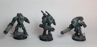 Tau stealth suits from warhammer 40k