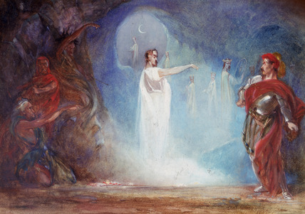 the supernatural tales blog ghosts in shakespeare  and here s a slightly more modern interpretation you can the whole gangsta sci fi version of the story here it s a teaching resource