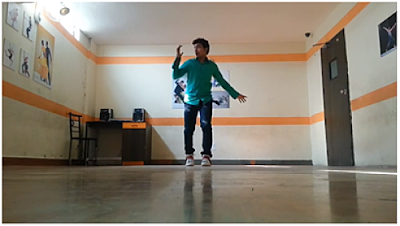 Slow walk in Lyrical Dance by Tarun Kumar