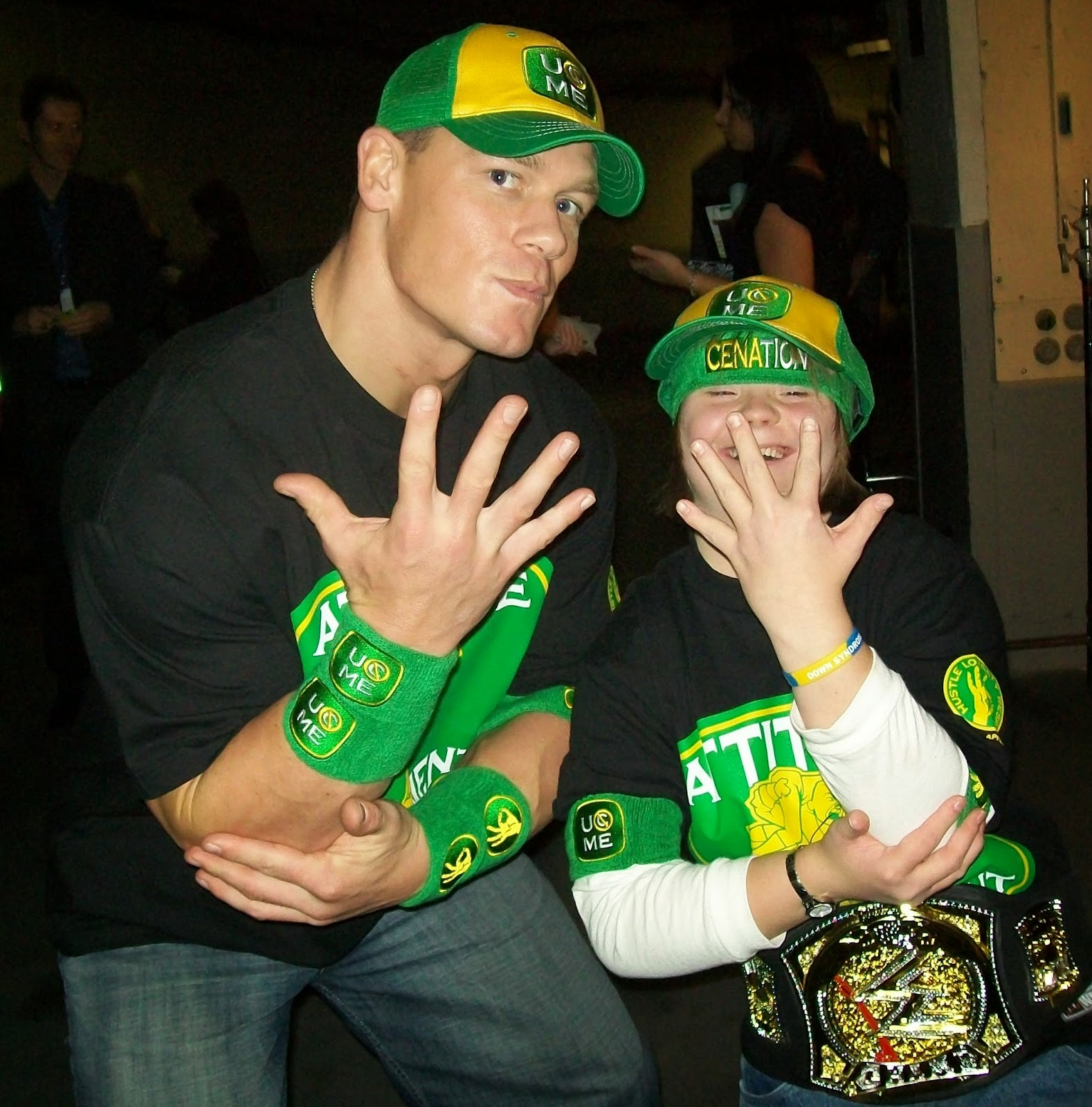 You Can't See Me taunt child John Cena