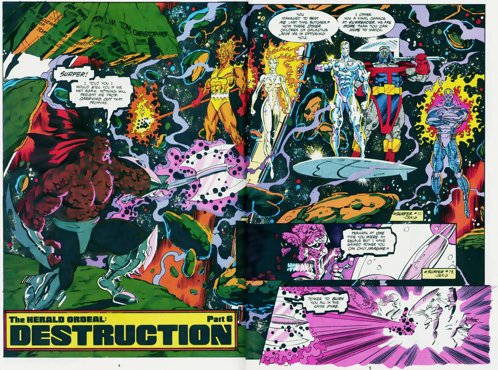 Retrospective Ron Marz And Ron Lim S Silver Surfer