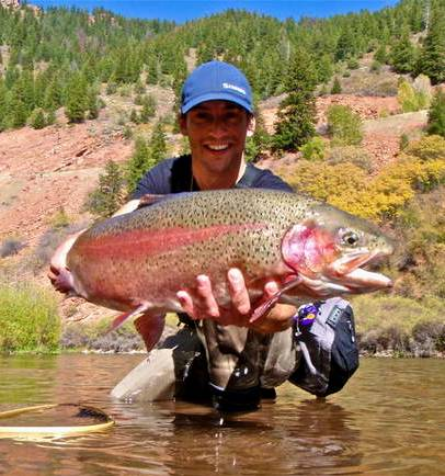 Colorado fly fishing reports frying pan report for Co fishing report