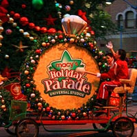 The Macy's Holiday Parade at Universal Studios