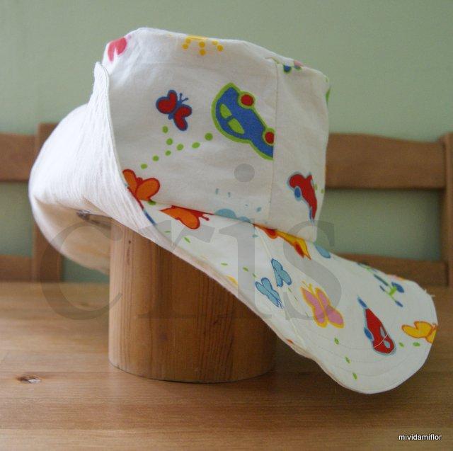 Cómo hacer un patrón para un sombrero de tela.