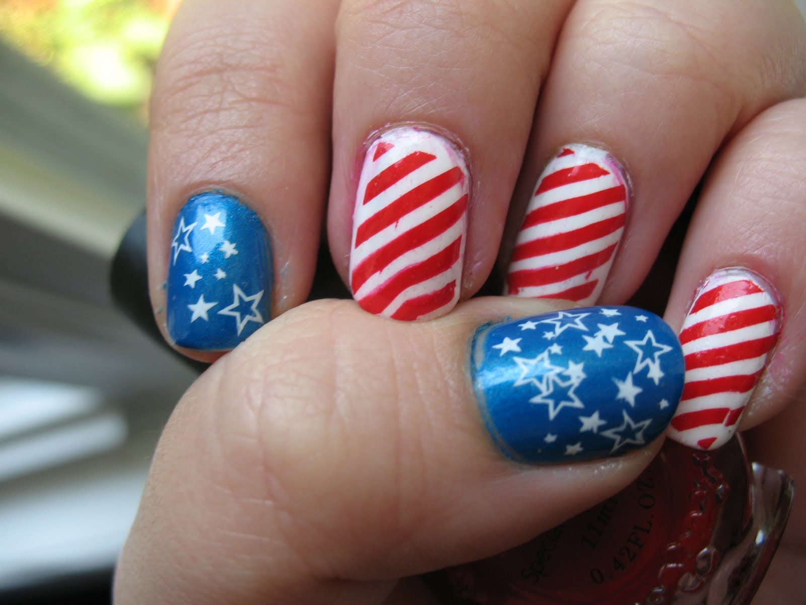 Rebel flag nail art nails gallery rebel flag nail art gallery prinsesfo Gallery