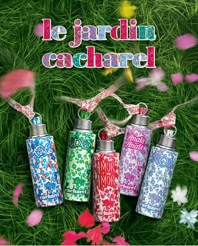 Toque sensual cole o le jardin da cacharel for Cacharel le jardin