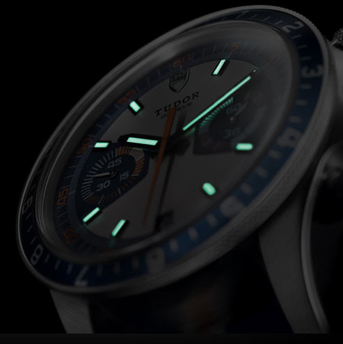 Tudor Heritage Chrono Blue - Superluminova