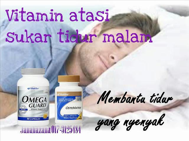 vitamin untuk tidur lena