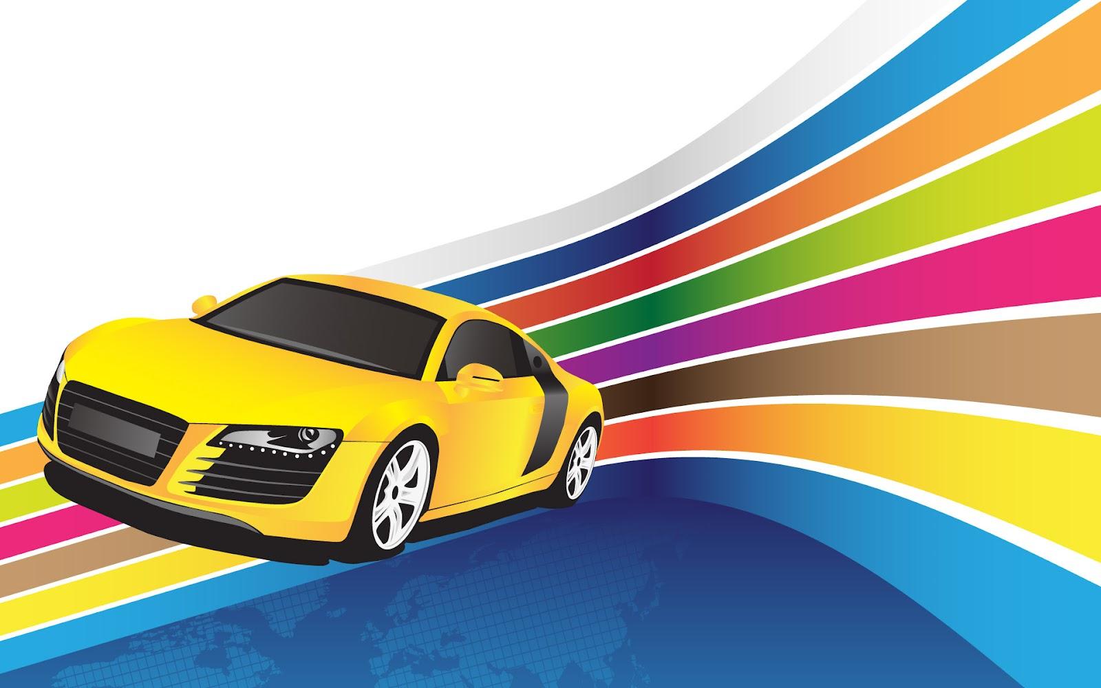 Racing Cars Cartoon Wallpapers Mobile Wallpapers