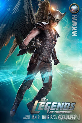 DC's Legends of Tomorrow Character Television Poster Set - Falk Hentschel as Hawkman
