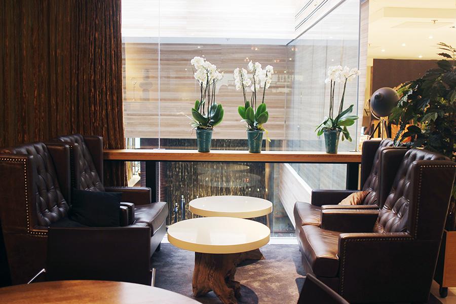 Lobby of Hotel Klaus K, Helsinki, Finland