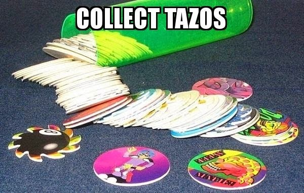 tazos collection