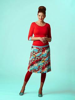 Top och kjol Jolly Janice från duMilde på Mosaik i Luleå