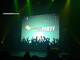 WeChat Launch Party 2013 Neverland KL Malaysia stage
