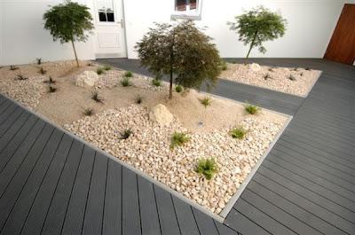arte y jardiner a superficies horizontales materiales para el jard n. Black Bedroom Furniture Sets. Home Design Ideas