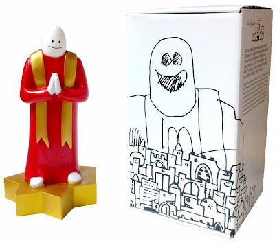 Super7 x Mark Gonzales The Priest Vinyl Figure