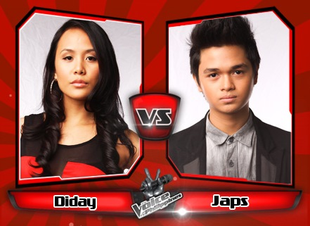 Japs Mendoza vs Diday Garcellano | The Voice of the Philippines Battle Rounds