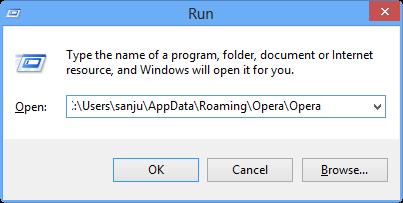 How To Reset Opera