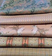 February mystery fabrics