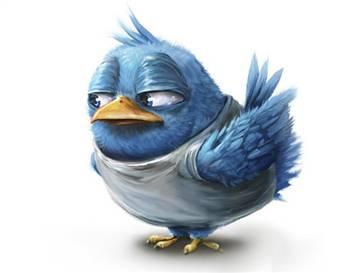 """Twitter Kuşunun İsmi """"Larry"""""""
