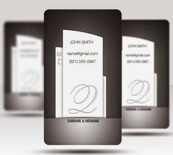 Business Card Template – Pillar