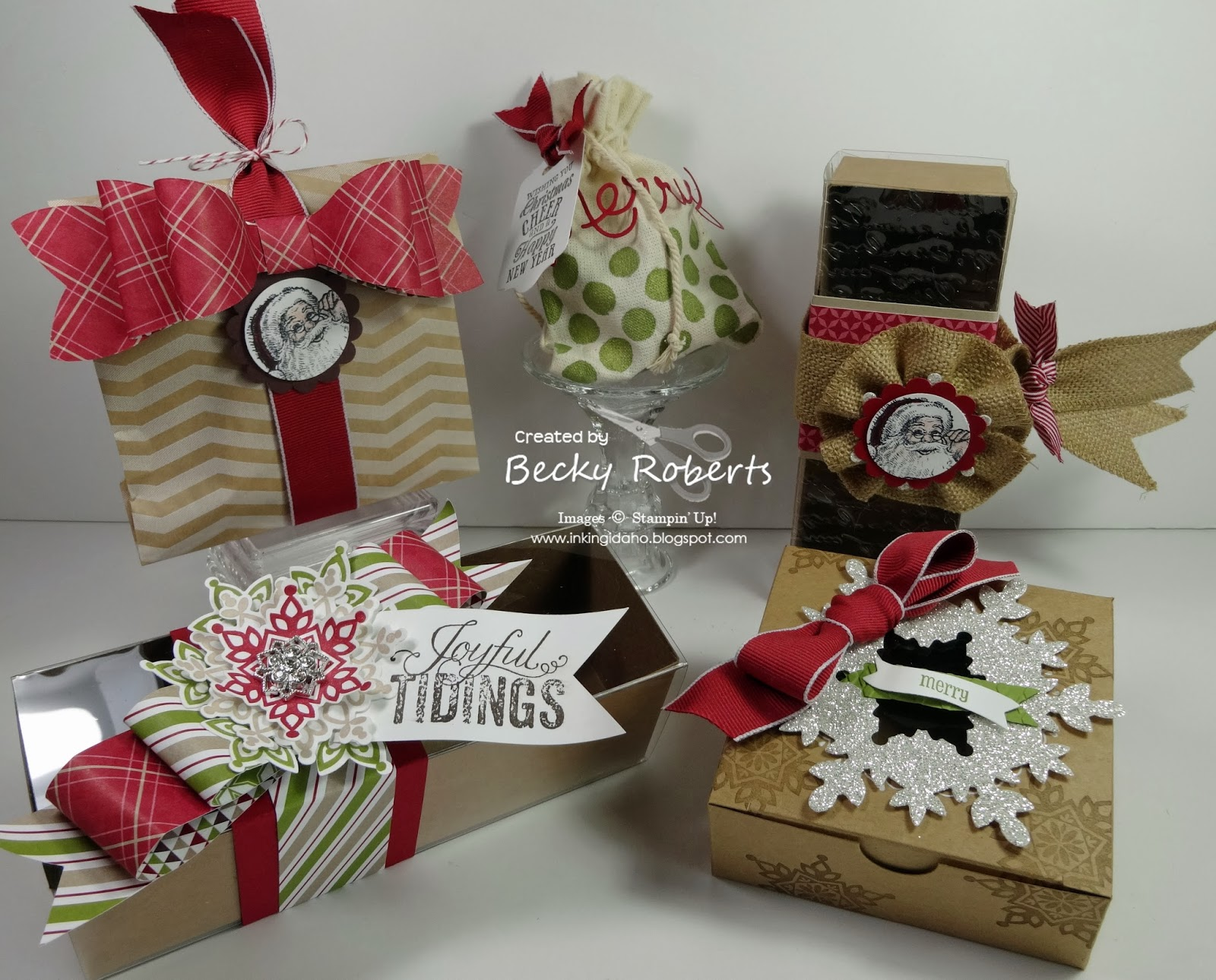 Inking Idaho: Creative Gift Packaging Class
