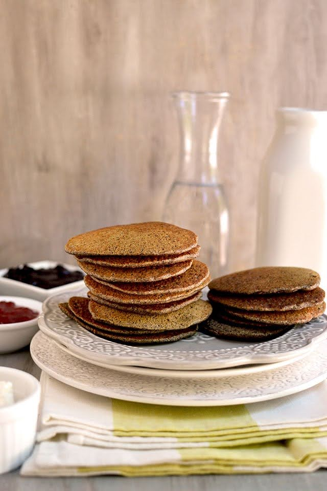 Russian Buckwheat Blinis