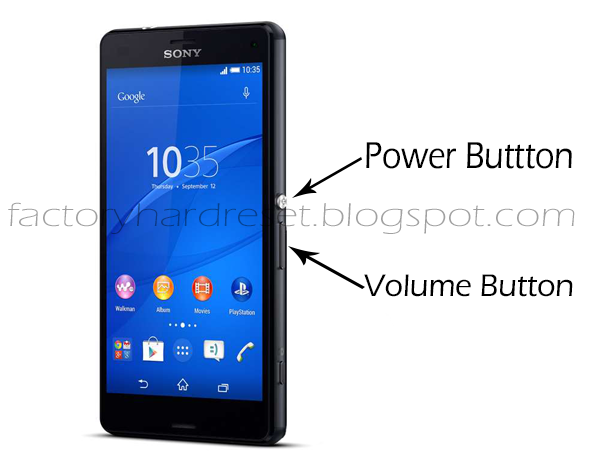 snippets of internet show how to factory hard reset sony xperia z3 rh gennexttrendz blogspot com Sony Xperia Frozen sony xperia button hard reset
