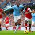 Manchester City golea al líder Arsenal en la Premier League.