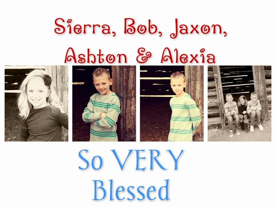 Sierra, Bob, Jaxon, Ashton & Alexia