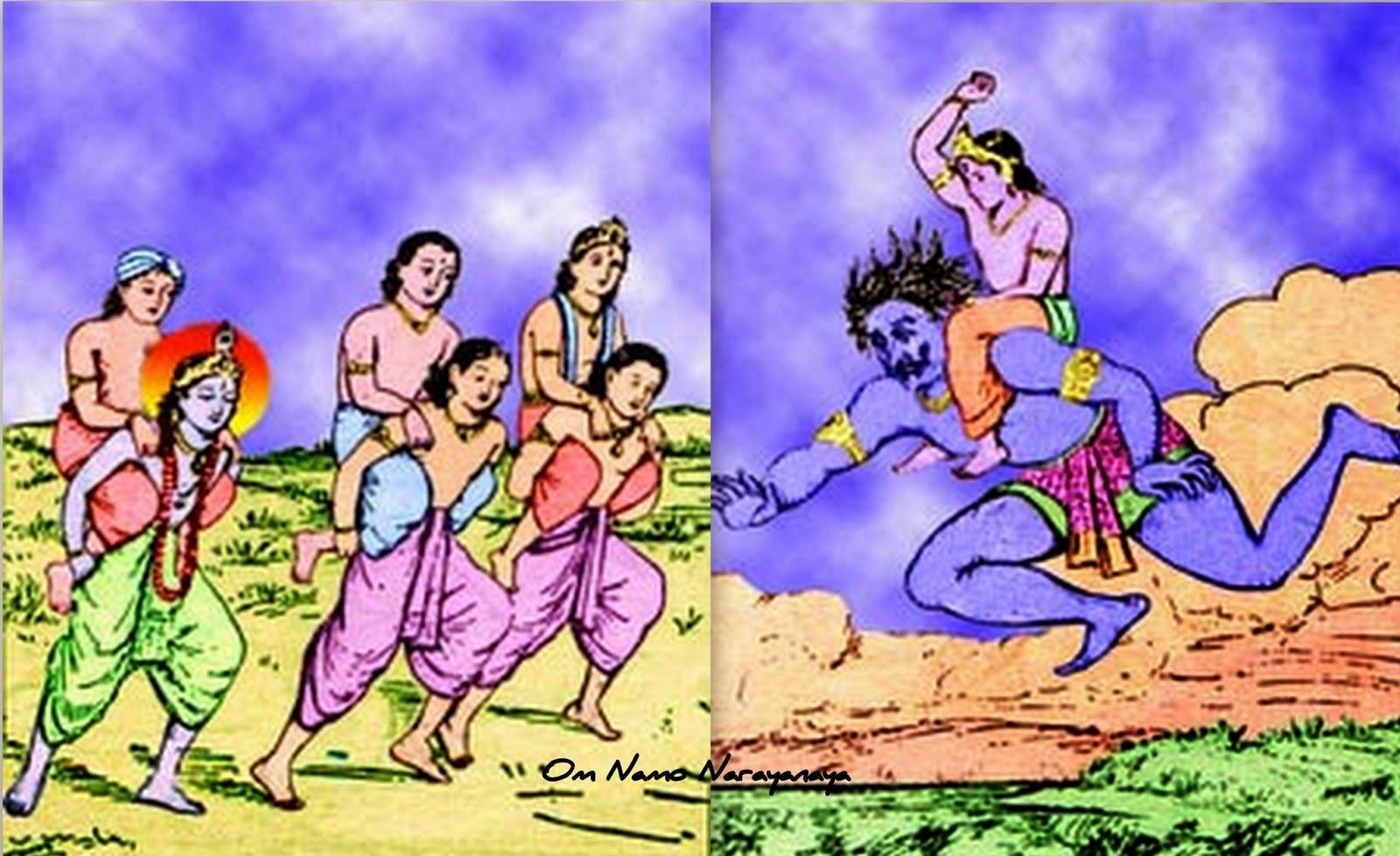 கண்ணன் கதைகள் (43) - பிரலம்பாசுர வதம்,கண்ணன் கதைகள், குருவாயூரப்பன் கதைகள்,