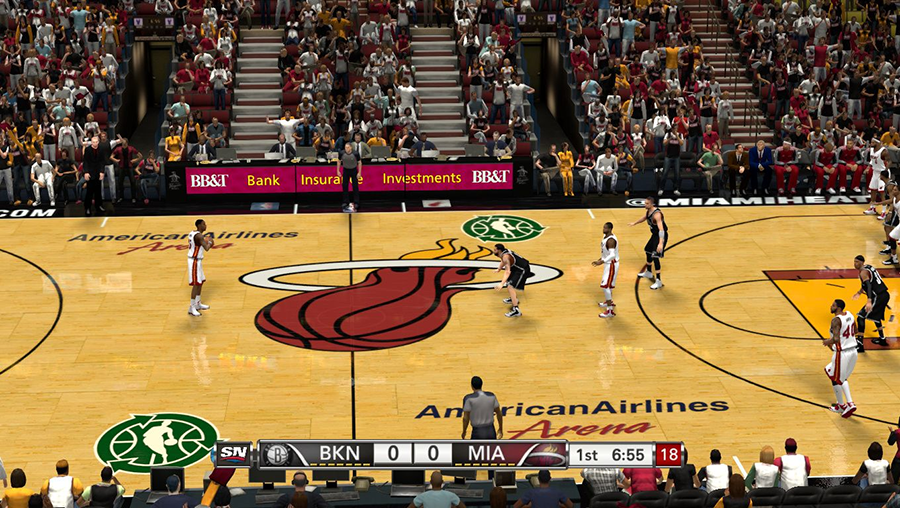 NBA Green Court | NBA 2K14