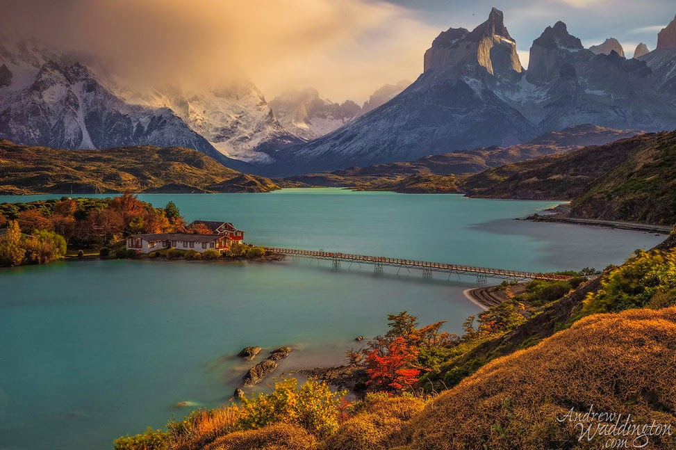 Dramatic Skyline and Hiker's Paradise in Stunning Torres del Paine, Chile