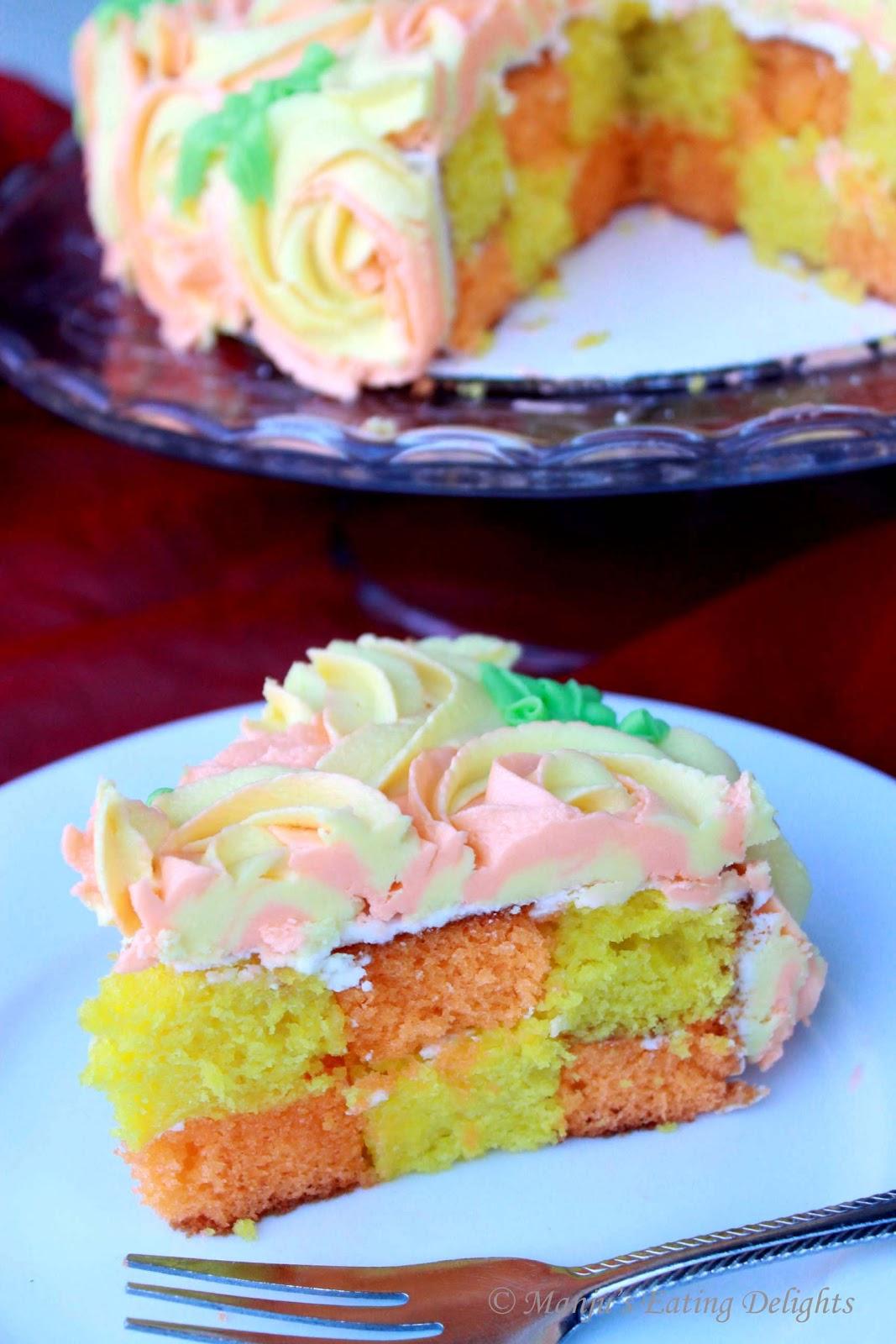 Betty Crocker Checkerboard Cake Recipe