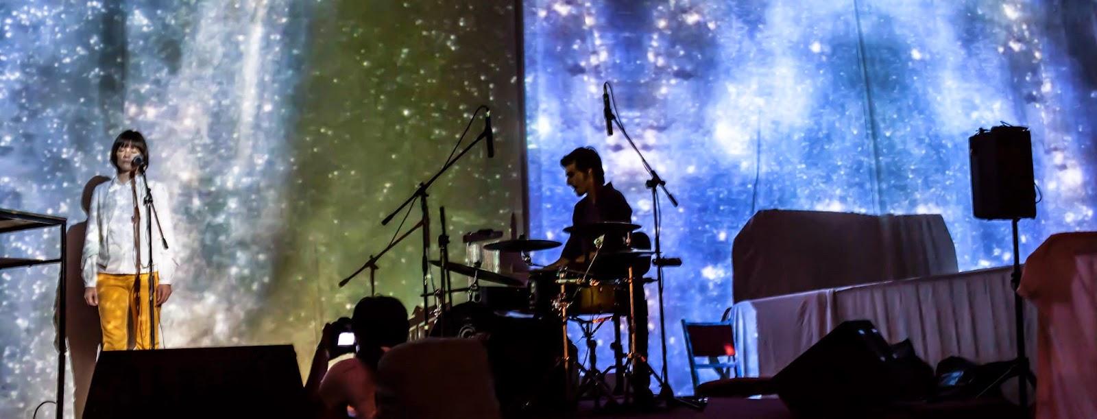 Thy Veils live at Sziget Festival 2014 - Manuela Marchis & Radu Pieloiu