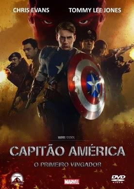 Filme Capitão América O Primeiro Vingador Dublado AVI BDRip