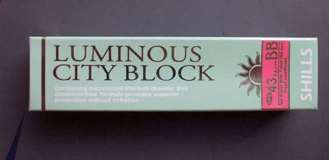 Shills Luminous City Block SPF43/PA+++