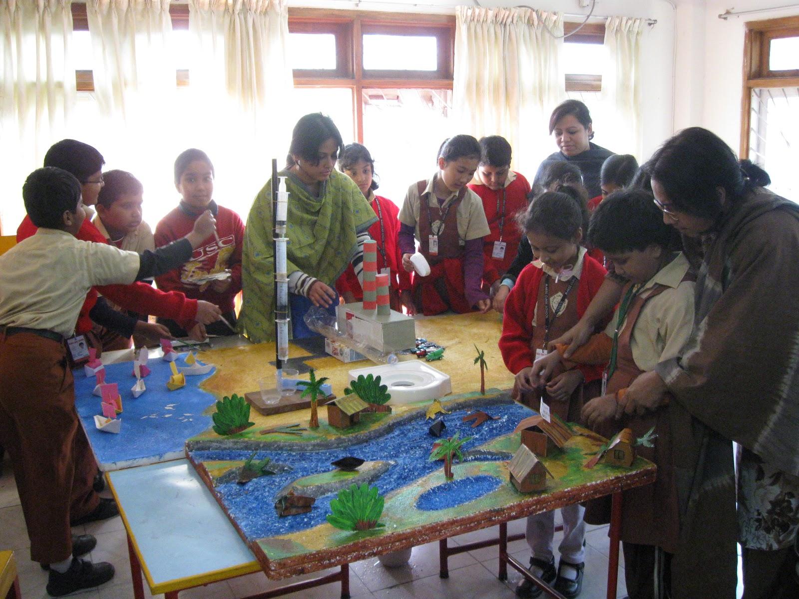 University In Bangladesh: Science Fair of Marie Curie School