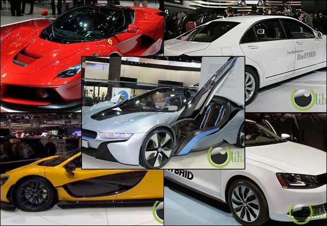 7 Mobil Hybrid Canggih Keluaran Produsen Ternama