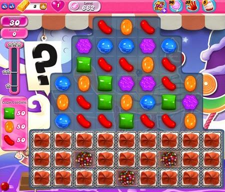 Candy Crush Saga 662