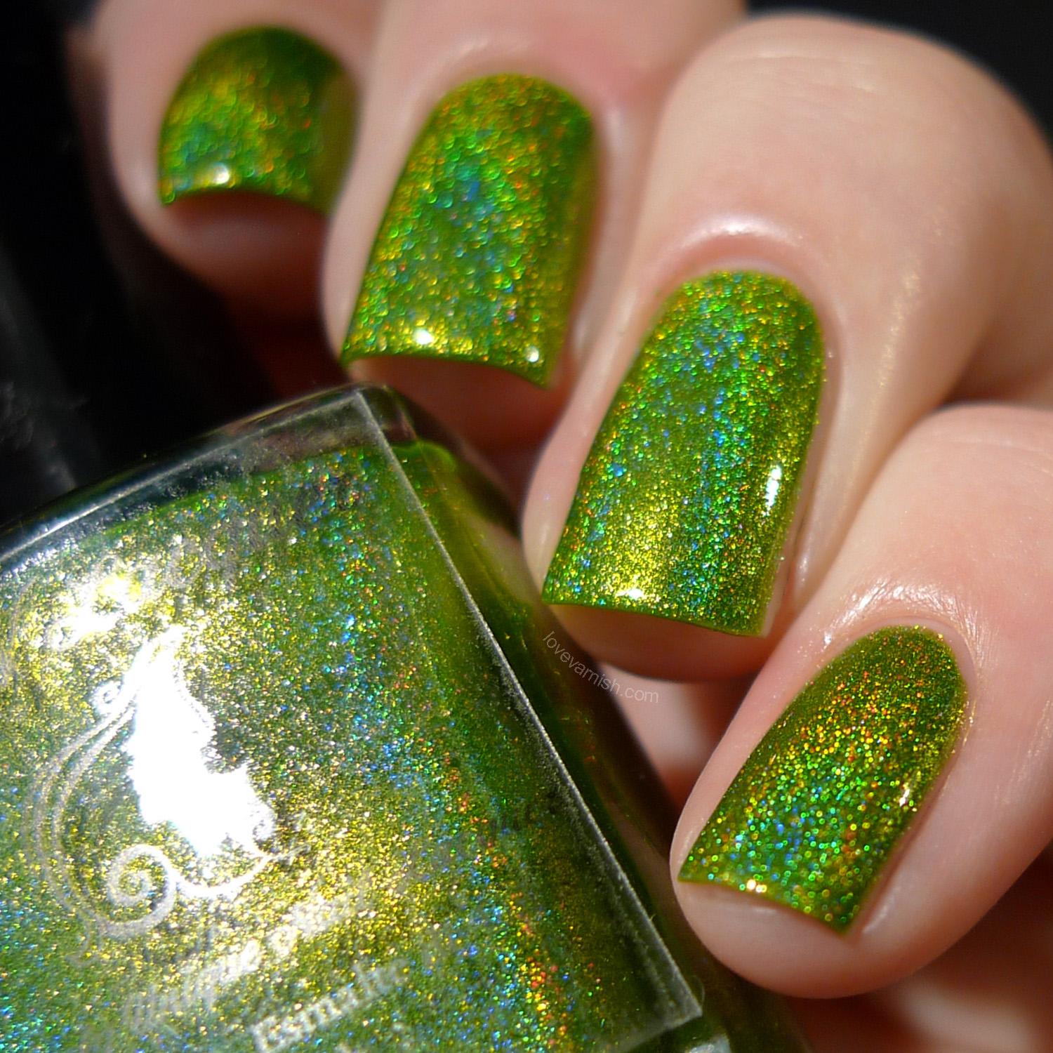 F.U.N Lacquer Summer 2014 Mowed Meadow holographic