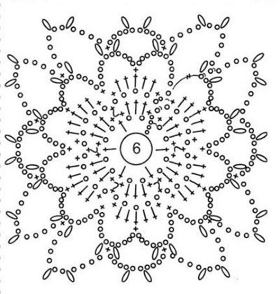 Шапка крючком схема цветка