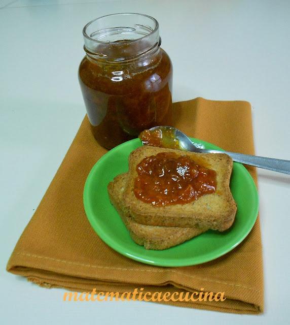 marmellata di zucca speziata