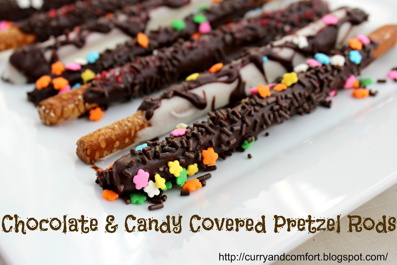 love chocolate covered pretzels because they bring both sweet and ...
