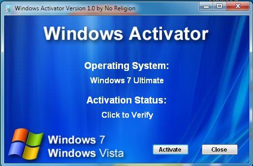 Самые последние рабочие версии активаторов для Windows Vista, Windows XP, S