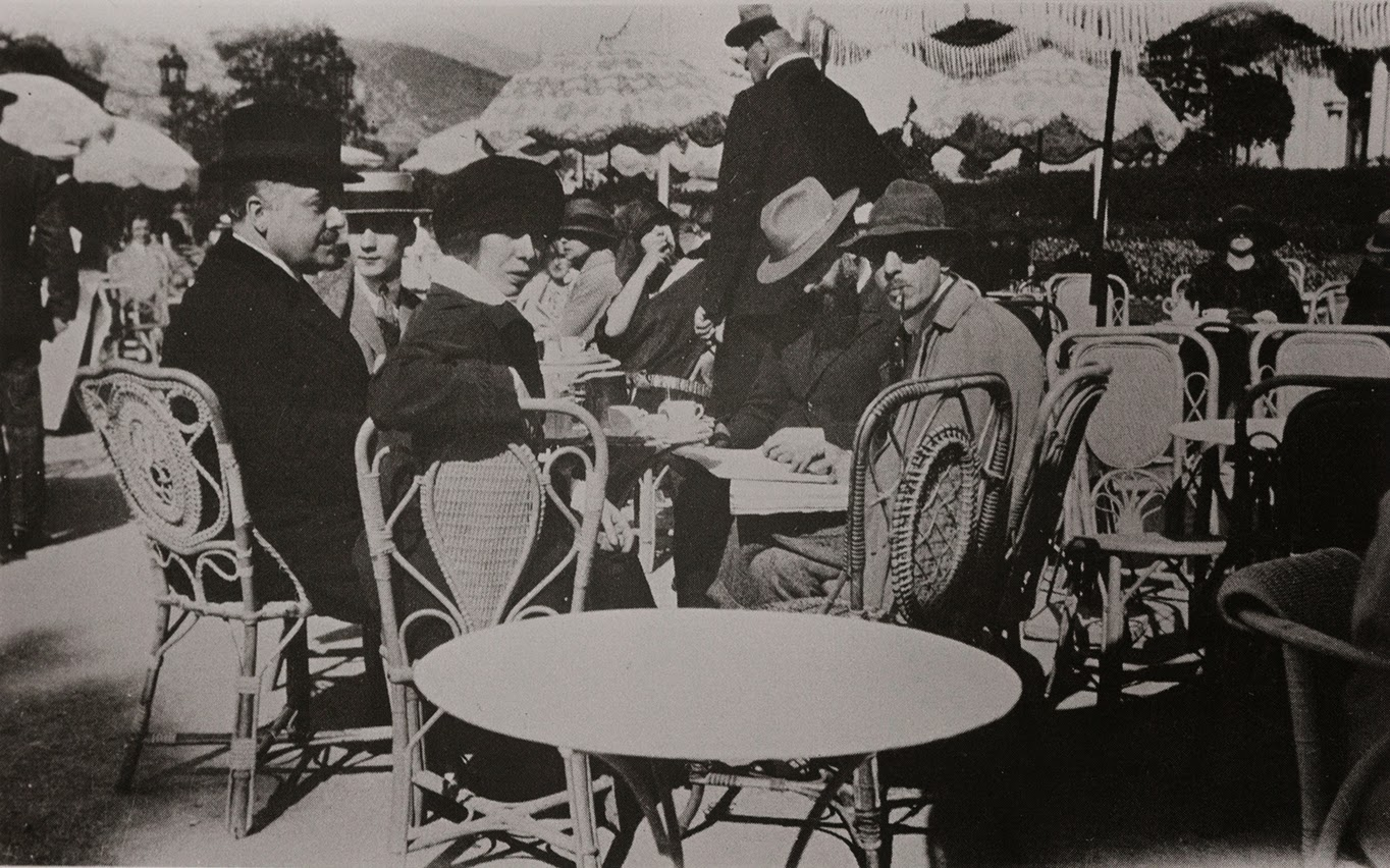 Diaghilev Nijinska Stravinsky Ansermat y Kochno en Montecarlo 1923