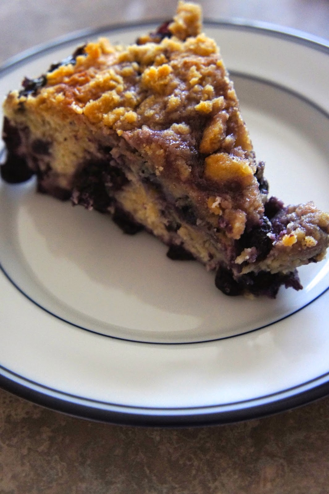 Blueberry Buckle: Savory Sweet and Satisfying