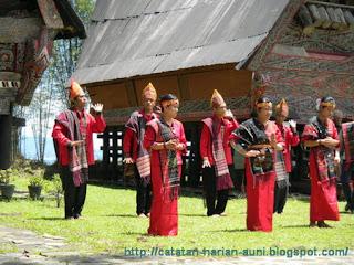 Tari Tor Tor Batak Mandailing Indonesia