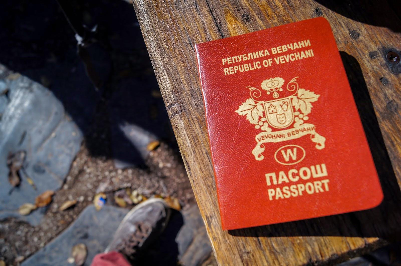 Pasaporte de Vevchani