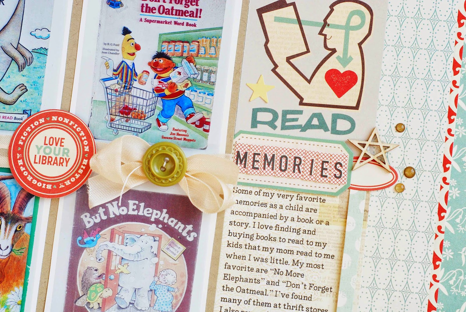 Scrapbooking Childhood Memories by Becki Adams